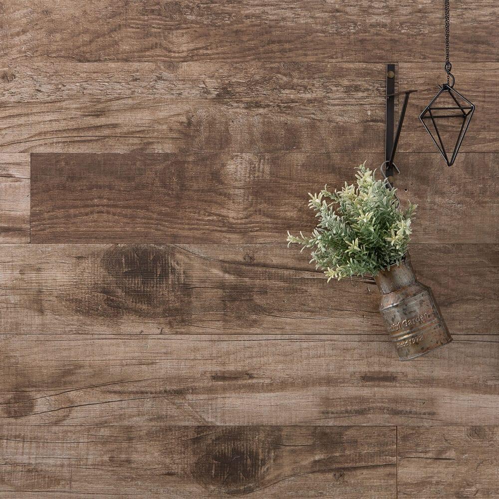 貼れる木 ウォールシール 腰壁 壁に板を貼るdiy ウッドパネル