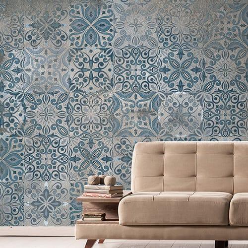 インポート壁紙 WALLPERA 【KPERA009】Old Tiles(オールドタイル)