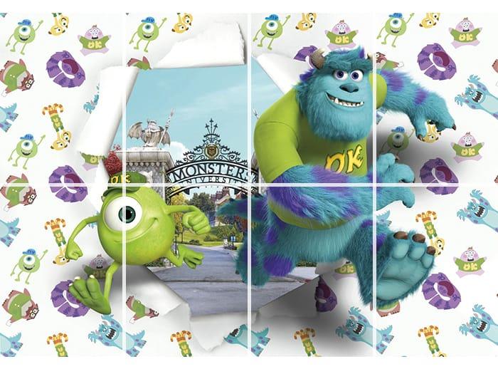 ドイツ製輸入壁紙 Monsters University 壁紙・クロス・ウォール