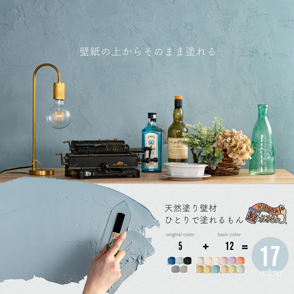 塗り壁DIY ひとりで塗れるもん